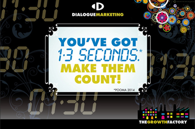 You've got 1.3 seconds