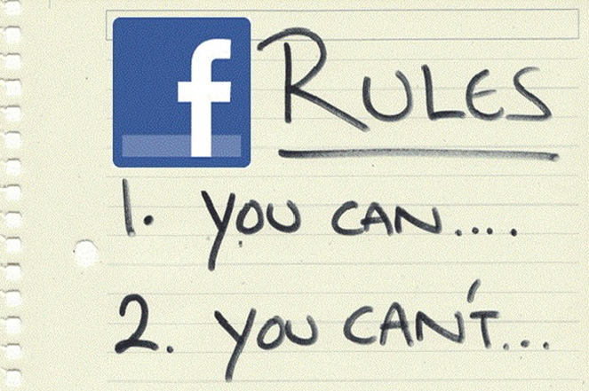 facebook-rules