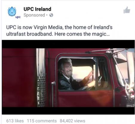 Richard Branson Heading the takeover of UPC